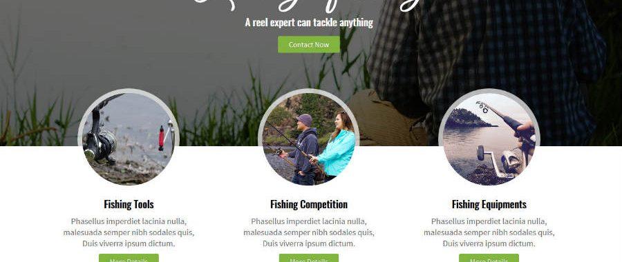 Added New Theme : Fishing