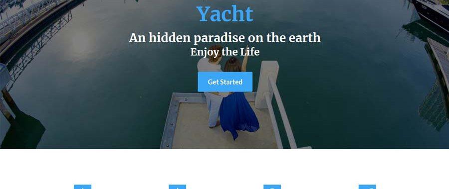 Added New Theme : Yacht