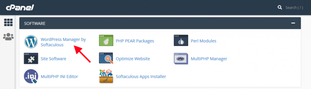 cpanel-wordpress-manager