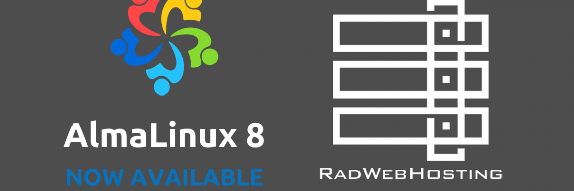 Almalinux 8 now available on dedicated servers