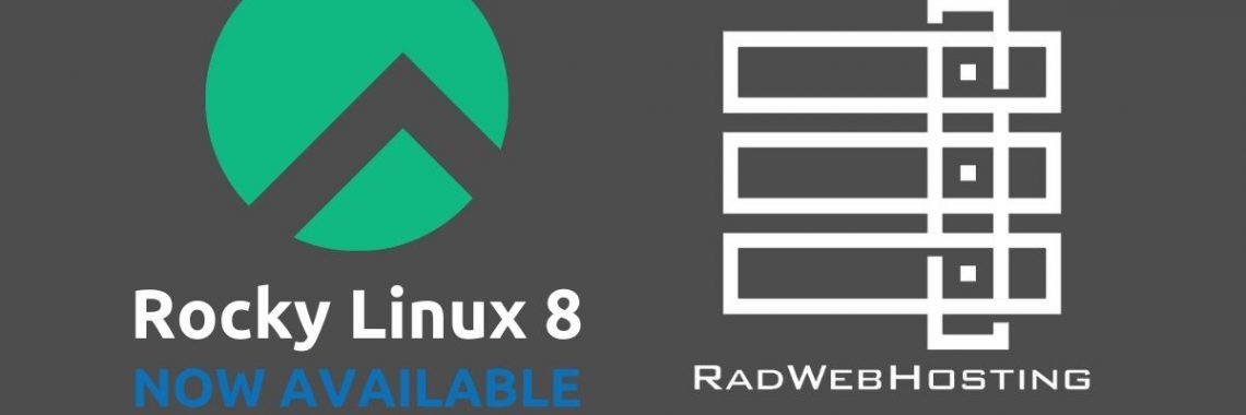 Rocky linux 8 available for dedicated servers